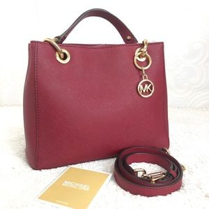 🌸OFFERS?🌸Michael Kors Leather Red Small Satchel